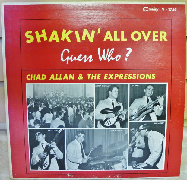 Vintage Vinyl: Chad Allan and the Expressions – 'Shakin' All Over'