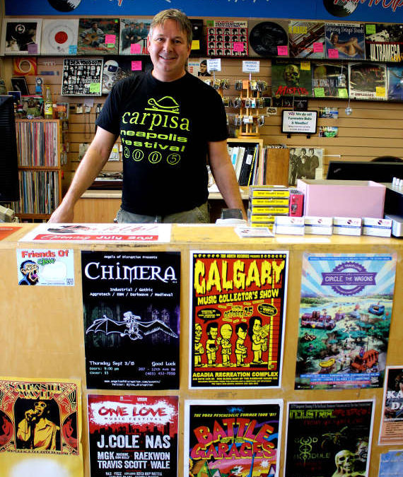 Calgary record institution rebrands as Turn It Up! Records & Hi-Fi Inc.